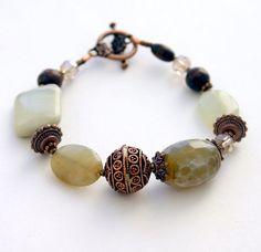 Green Copper Bracelet by InspiredTheory on Etsy, $16.00