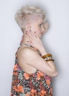 short #pixie #haircut #haircuts #blonde