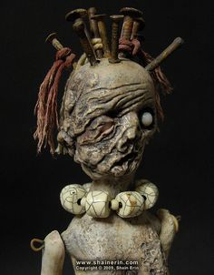 Power Figure Doll Sculpture by Shain Erin, via Flickr