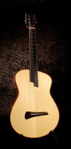 Modern Nylon String Guitars Photos