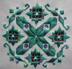 Mary Joan Stitching: Hardanger Gallery > Nordic Needle Design