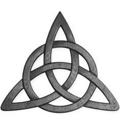 The Celtic Trinity Knot, or the Triquetra, is one of the most ...
