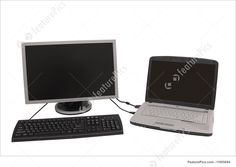 Laptop And Monitor