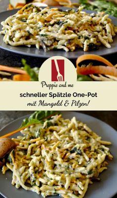 Krups Prep&cook, Zucchini Lasagne, Spatzle, Scampi, Most Favorite, Gnocchi, Food Inspiration, Cabbage, Prepping