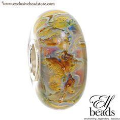 Elfbeads field dreams Glass Bead.