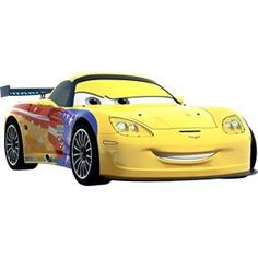 disney pixar cars 2 movie 155 die cast checkout lane package jeff gorvette by mattel - Cars The Movie 2 Characters