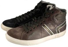 High sneakers for men, made in Italy by Nero Giardini