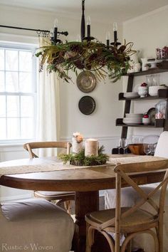 cozy-country-christmas-dining-room