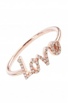 fall in love with this rose gold #diamond #ring I NEWONE-SHOP.COM