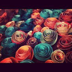 paper flowers (craft 1)
