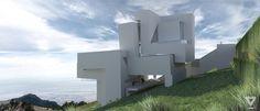 Guardiola House, Peter Eisenman. (Een niet gerealiseerd concept 1988)