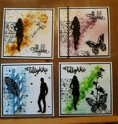 Boy Cards, Stamping Up, Cardmaking, Birthday Cards, Mixed Media, Gallery Wall, Scrapbooking, Silhouette, Inspiration