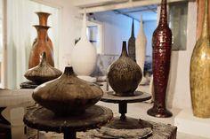 View of the studio. Zen, Contemporary Ceramics, Sculptures, Studio, Home, Decor, Atelier, Ad Home, Sculpture