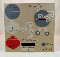 Summertime Punch Art Ideas: BBQ Grill