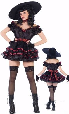 Deluxe Scarlet O Horror Adult Costume #sexy womens costumes #sexy halloween costumes