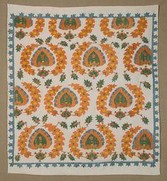 Silk embroidered Suzani, Uzbekistan.