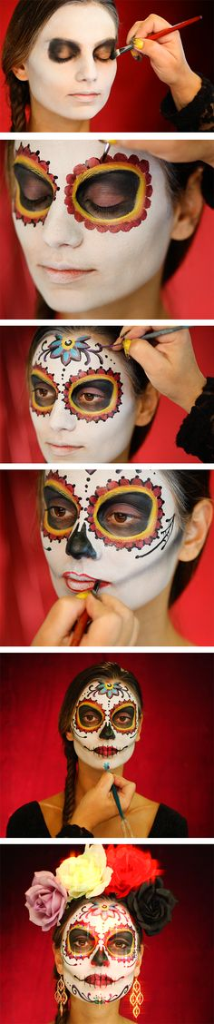 The Day of the Dead - makeup video