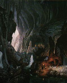 Lieux - Profondeurs - Caverne