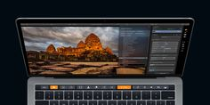 Photographers with the new MacBook Pro will now be able to control Luminar photo-editing software on the Touch Bar. Macbook Pro Tips, Newest Macbook Pro, New Macbook, Apple Macbook Pro, Apps For Mac, Macbook Pro Accessories, Mac Notebook, Photography Software, Macbook Pro Unibody