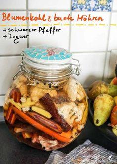 Rezept fermentierte Blumenkohl- und Möhren-Turshiya