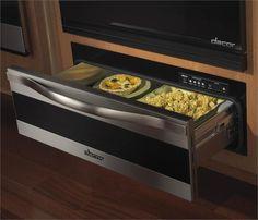 9 Luxury Kitchen Appliances - Epicure Warming Drawer on HomePortfolio