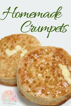 Store bought crumpets are good, but homemade ones are so much better! Store bought crumpets are good, but homemade ones are so much better! Crepes, Homemade Crumpets, Homemade Scones, Homemade Butter, Homemade Breads, Homemade Food, Simply Yummy, Breakfast Desayunos, Scottish Recipes