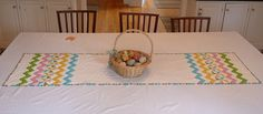 Easter Table Runner, via Flickr.