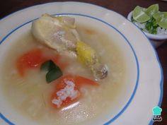 Receta de Caldo de pollo con arroz mexicano #RecetasGratis #RecetasMexicanas #ComidaMexicana #CocinaMexicana #Sopa #Caldo