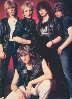 Def Leppard, early 1983 ish.