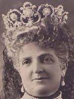 Tiara Mania: Queen Margherita of Italy's Pearl & Diamond Tiara