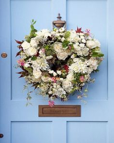 Flower Wreath from Provence Mon Amour FB