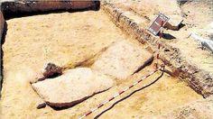 Encuentran una espectacular tumba en Boadilla del Monte que podría ser la de San Babilés, patrón de la villa (siglo VIII d.C.) y un horno visigodo