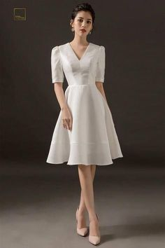 Swans Style is the top online fashion store for women. Shop sexy club dresses, jeans, shoes, bodysuits, skirts and more. Simple Dresses, Elegant Dresses, Pretty Dresses, Vintage Dresses, Grad Dresses, Short Dresses, Modern Filipiniana Gown, Women's Fashion Dresses, Dress Outfits