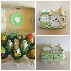 Diamantin´s Hobbywelt: Eierkarton aufgehübscht