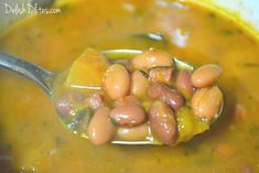 Habichuelas guisadas are the quintessential Puerto Rican side dish. This complex, earthy dish goes great with rice, or even as a standalone meal. Puerto Rican Dishes, Cuban Dishes, Puerto Rican Recipes, Pork Recipes, Mexican Food Recipes, Cooking Recipes, Beans Recipes, Latin American Food