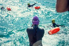 """Open Water Austria!🇦🇹 It is almost a privilege to dive into the sparkling and crystal-clear water of the Woerthersee!💙 """"Woerthersee-Swim,💥 September 5th & 6th, 2020! Foto: Jacek Poremba Open Water Swimming, Crystal Clear Water, Austria, September"""