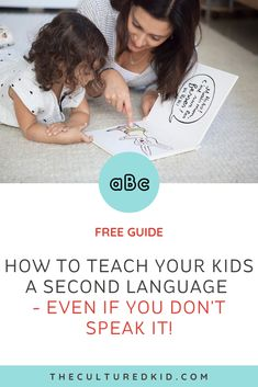 Have you ever wanted to teach your kids a second language but had no idea where to start? Here's your first tip - play matters! In this free guide, I share everything you need to know to teach your kids a foreign language so they're speaking by the end of the day! Simply download to get playing your way to fluency! Language Immersion, Teachers College, Montessori Homeschool, Getting Played, Language Lessons, Don't Speak, Second Language, Teaching French, Activities For Kids