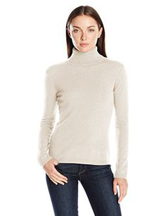 VELVET BY GRAHAM & SPENCER Women's Cashmere Ruffle Hem Turtleneck ...