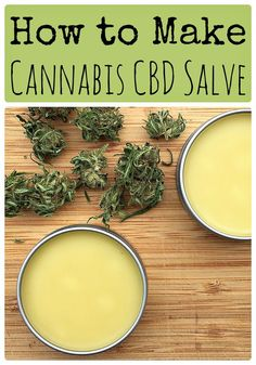 Learn how to make a cannabis CBD salve from CBD infused oil. This topical cannabis salve is highly medicinal and has many uses, including for pain.