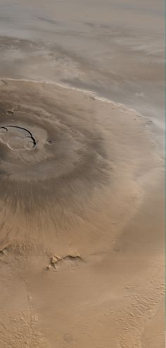 At three times the height of Mt. Everest, Olympus Mons on Mars in the largest volcano in our solar system. Cosmos, Mars Surface, Electric Universe, One Step Beyond, E Mc2, Space Telescope, Space And Astronomy, Earth From Space, Our Solar System