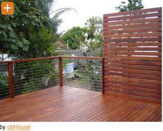 part fence part sun screen