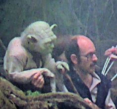 Yoda and Frank Oz. Frank Oz, Freak Flag, The Muppet Show, In His Time, Computer Animation, How To Apologize, Jim Henson, Book Tv, Episode 5