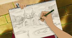 When Marnie was There (思い出のマーニー) Hayao Miyazaki, Anime Gifs, Anime Art, Erinnerungen An Marnie, Doremi Anime, When Marnie Was There, Studio Ghibli Movies, Kimi No Na Wa, Film D'animation