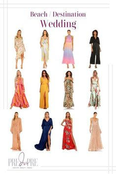 What To Wear To A Wedding, How To Wear, Hot Summer Outfits, Outfit Beach, Warm Weather Outfits, Spring Trends, Dress Wedding, Wedding Season, Get Dressed