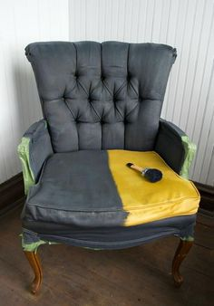 Fauteuil Charlkpaint