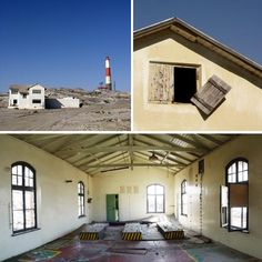 The town of Luderitz was founded in 1883 as a trading post on land purchased on behalf of Adolf Luderitz, of Bremen in Germany.  In 1909 diamonds were discovered at Luderitz, which led to a surge of prosperity for the town, but this didn't last and today many of the buildings lie abandoned and forgotten.  The remains of a Norwegian whaling station – dating back to 1914 – also stands on the peninsula, a rusty ruin today.