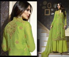 Punjabi latest suit Indian bollywood party wear designer salwar kameez freeship #Shoppingover #Salwarkameez