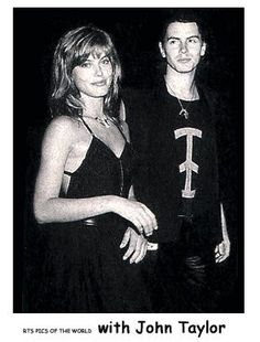 With John Taylor