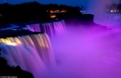 Waterfalls via www.Facebook.com/PurpleIsWho