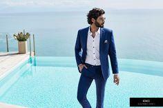 Giacomo Conti Wiosna/Lato 2016 Stylizacja od Giacomo Conti: Suit Jacket, Breast, Suits, Jackets, Fashion, Down Jackets, Moda, Fashion Styles, Suit